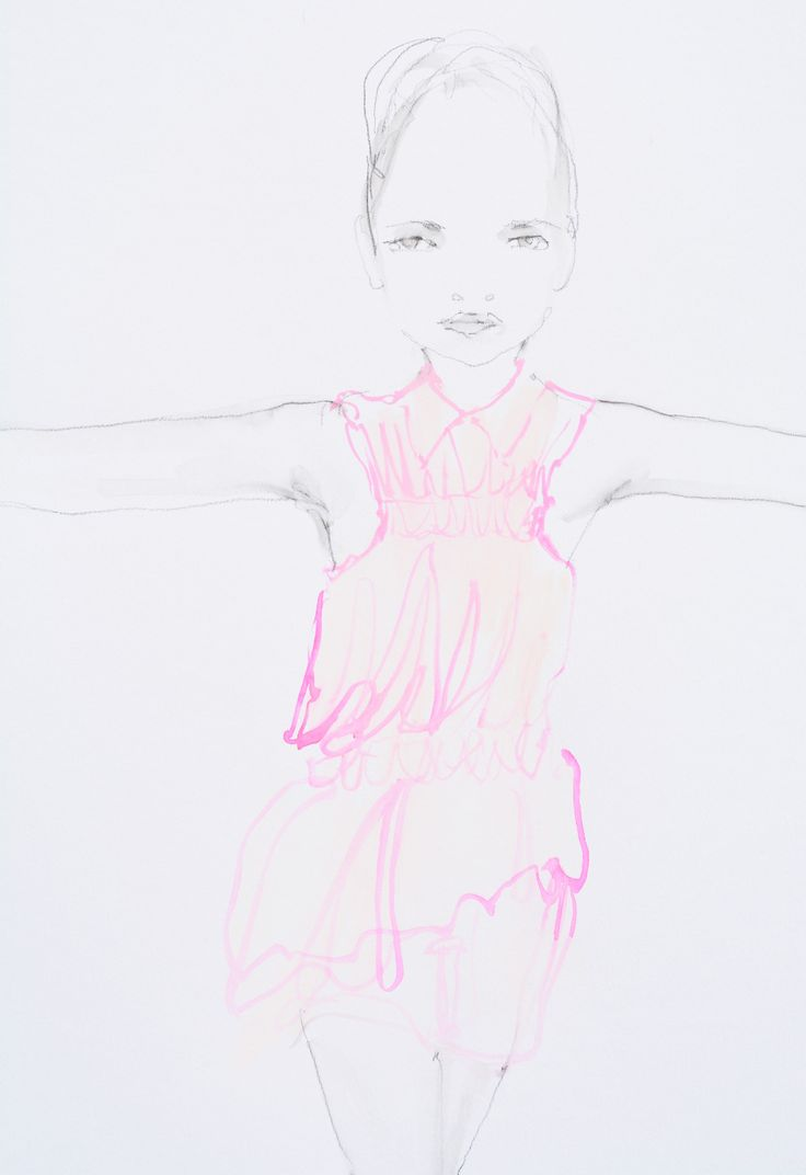 Modeconnect.com - Fashion Illustration of Viktor and Rolf by Abbey McCulloch