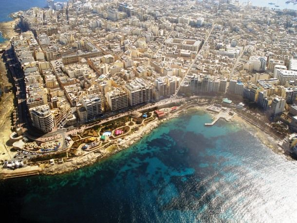 Sliema, Malta is one of the largest cities in the country ...