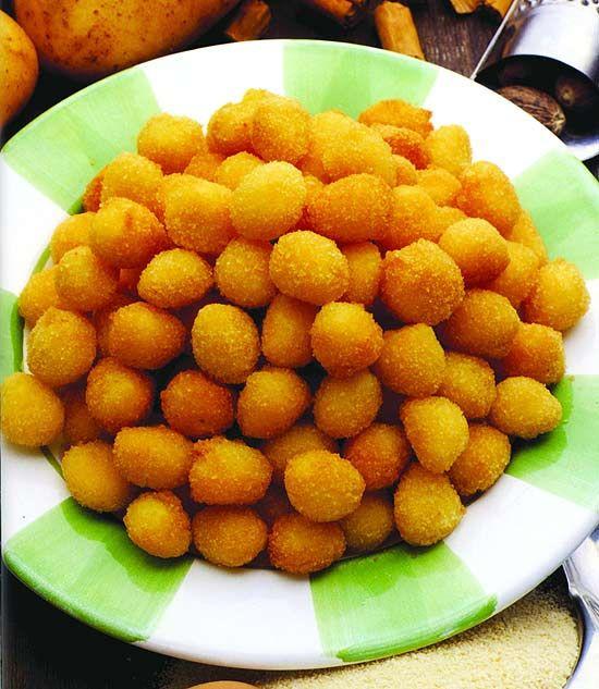 """Nhoque frito (foto) é uma das receitas fáceis e saborosas que fazem parte do recém-lançado """"Nhoque e Polenta"""""""
