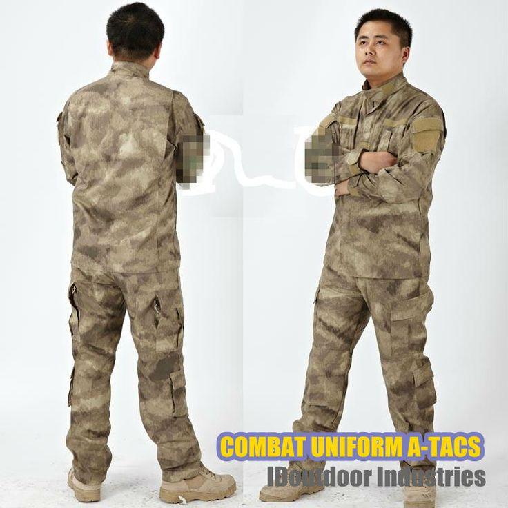 ПЕЙНТБОЛ AIRSOFT, рубашка и брюки, боевая БДУ Униформа, военная форма, Multicam A-TACS