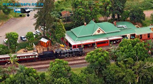Old Hillcrest Station, now a restaurant