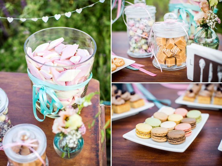Sweet table for Outdoor wedding