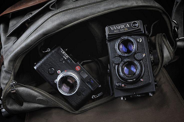 Mixed Bag- Leica M6 - 50mm Cron Type II & Yashica Mat 124-G