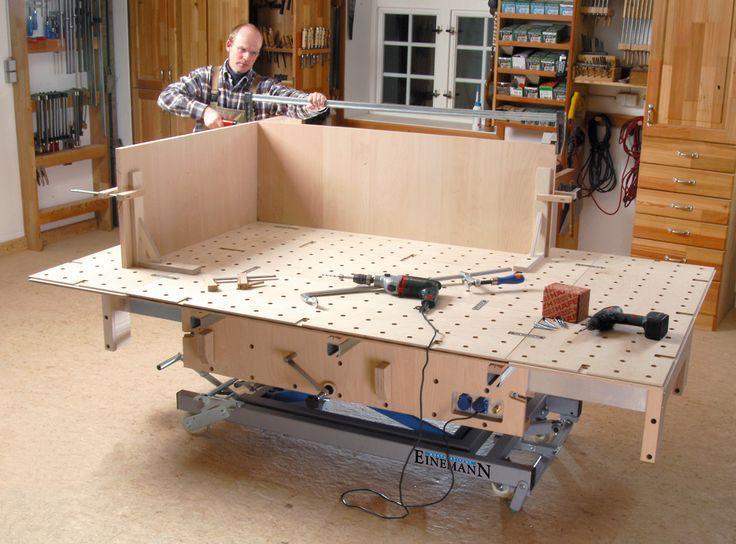 die besten 25 mobile werkbank ideen auf pinterest. Black Bedroom Furniture Sets. Home Design Ideas