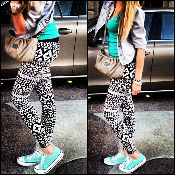 Printed Leggings Tumblr | www.pixshark.com - Images ...