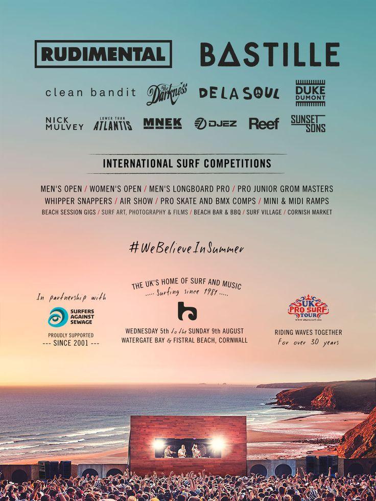 Boardmasters Festival | Line Up