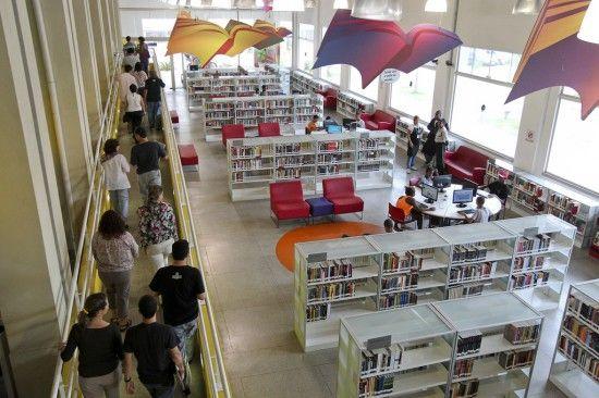 * Biblioteca Parque de Manguinhos, Rio de Janeiro, Brazil