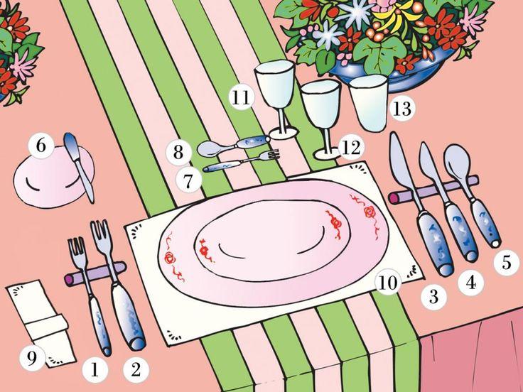 Sie wollen einen gelungenen Abend für Freunde oder Familie organisieren? Neben guten Tischmanieren gehört auch ein richtig eingedeckter Tisch zum perfekten Dinner. Aber liegt die Gabel rechts oder links vom Teller? Und welches Besteck wird für welches Essen benutzt? Mit unseren Tipps und Tricks finden Sie sich im Chaos der Regeln zurecht.