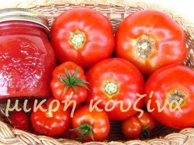μικρή κουζίνα: Πώς φτιάχνουμε πελτέ ντομάτας