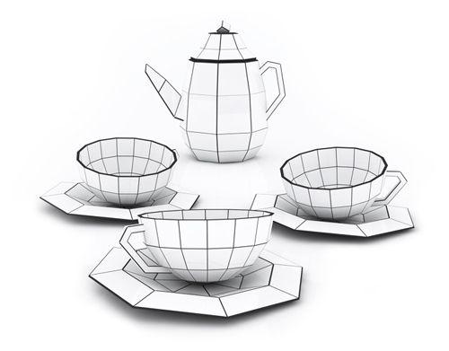 Spider Web Tea Set - Design Milk