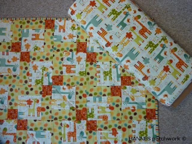 Så flyttede giraffen ind igen hos HANNES patchwork - se også http://hannesblog.dk/saa-er-giraffen-flyttet-ind-igen.html