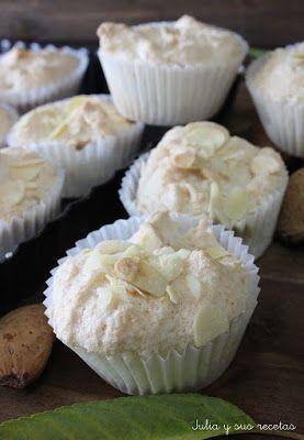 Cupcakes de almendra (sin gluten)