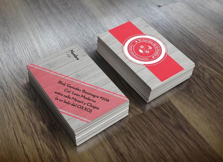 """#Mockup Tarjetas de Presentación """"El Jardin de la Paella"""" #diseño  #Inspiración"""