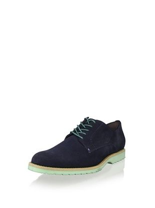 JD Fisk Men's Victor Oxford (Navy Suede)