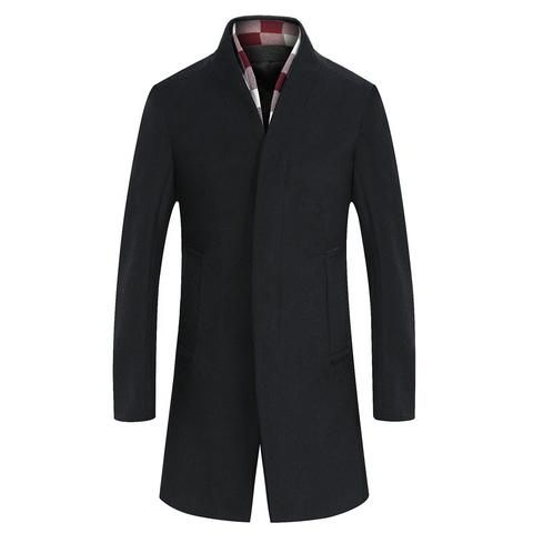 Single Breasted Collar Coat