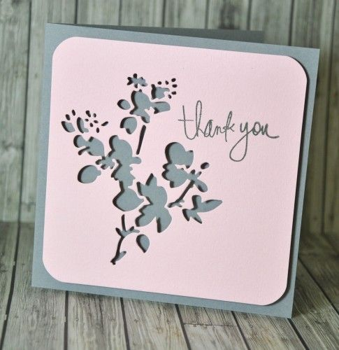 Sizzix Blog : Mixed-Media  As you can see I mounted the square onto the base card using adhesive foam pads so that the play of light and shadow becomes a factor in the finished design.: