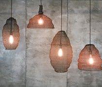 Jatani Wire Lampshades