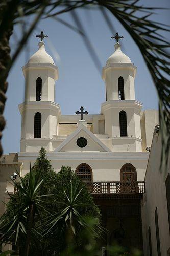 Coptic Church - photo taken by mrtraveller in Cairo, Egypt.