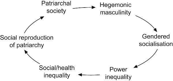 "a discussion on the manifestations of patriarchy and hegemonic masculinity as violence An earlier draft of this paper was presented at the danish institute for international studies  patriarchy ""in all  masculinity into the term 'human."