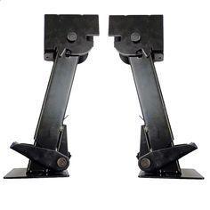 "Part #: OTP-TSJX2 Description: 2 (Two) Folding and retractable 650 lb. trailer stabilizer jacks. - Specs: - Retracted Length (collapsed): 11-1/2"" - Extended Length: 17-3/4"" - Drop Leg Travel: 6-1/4"" -"