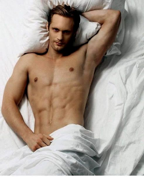 Alexander Skarsgard....OH MY LORD. From True Blood