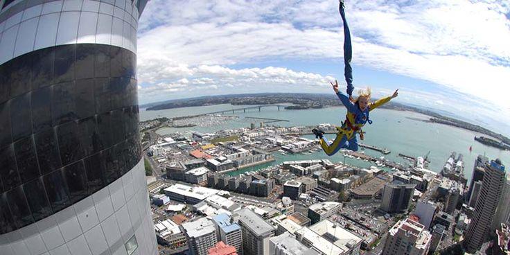 Auckland Sky Tower Jump