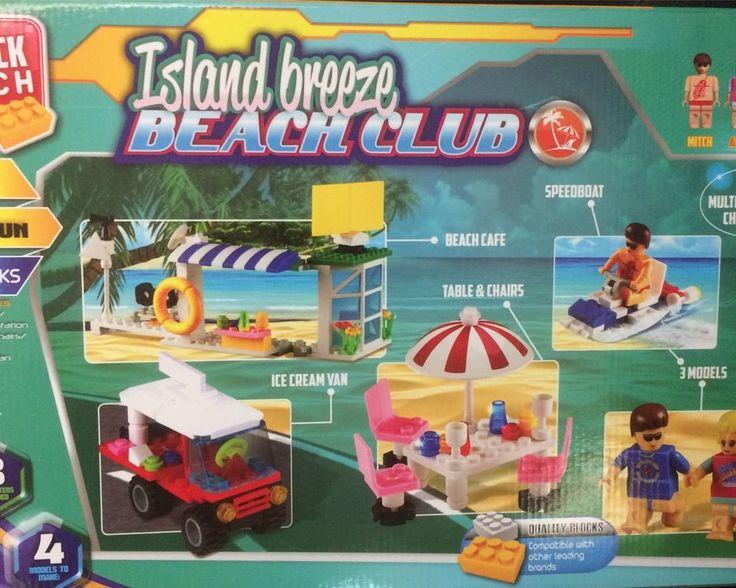 Island breeze Beach Club von Block Tech Bausteine kompatibel