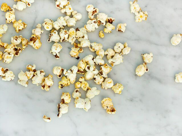 Sweet curry brown sugar popcorn