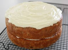 The best ever Thermomix Carrot Cake recipe! The white chocolate cream cheese icing is amazing!