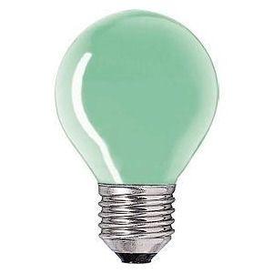 Kogel-lamp  15 watt E27 groen