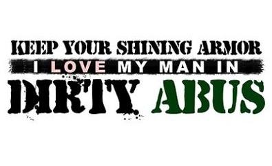 I love my man in dirty ABU's (;