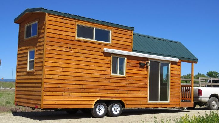 Rich's Portable Cabins has built so many tiny homesthat I just have to keep showing you the options that are possible for tiny house living. And they come in all shapes and sizes. It's…