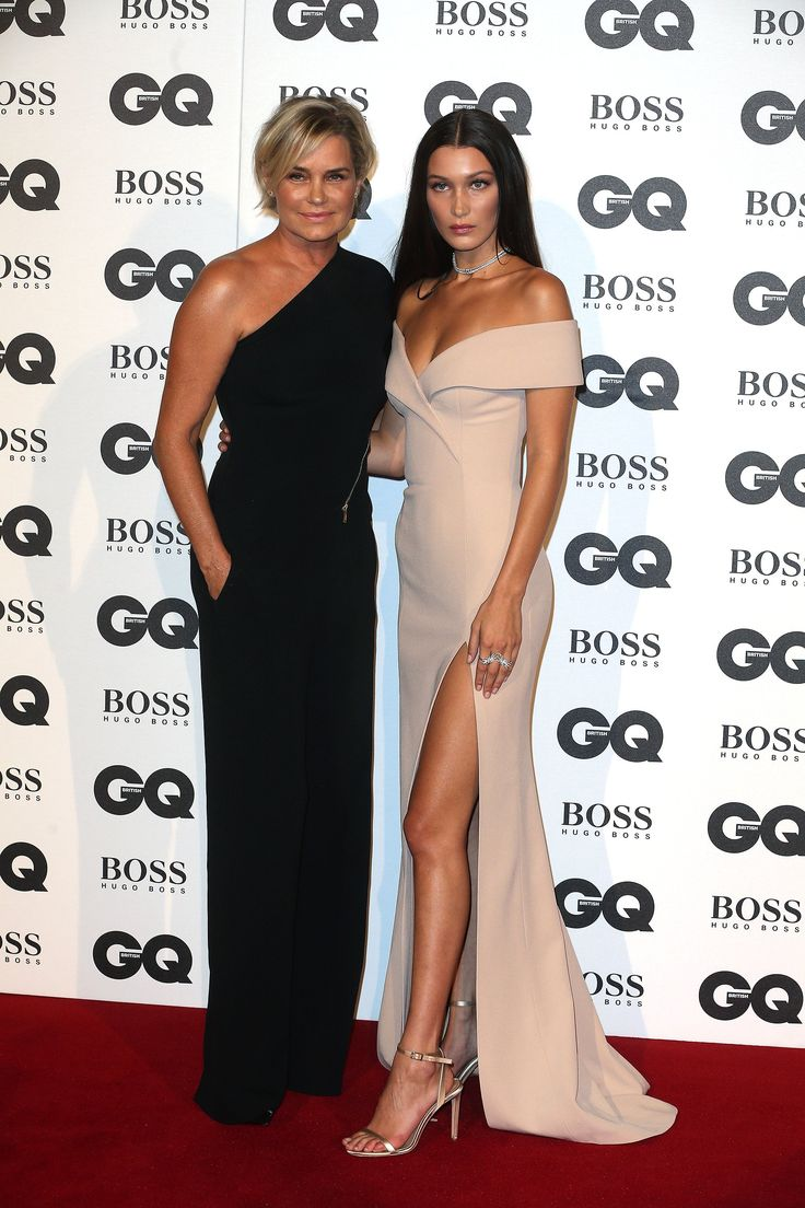 Yolanda Foster et Gigi Hadid aux GQ Men of the Year Awards 2016