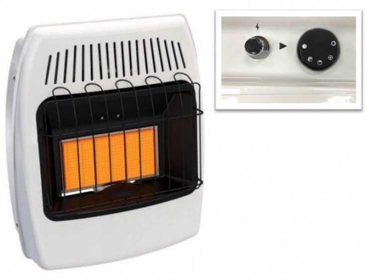Infrared Wall Heater Liquid Propane Mounting Vent Free Radiant Heating 18000 BTU #PerfectHomeSavings