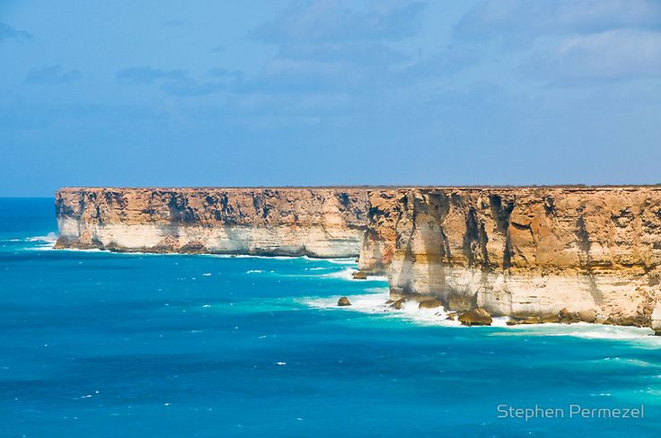 Bunda Cliffs - Nullarbor Plain, South Australia by Stephen Permezel