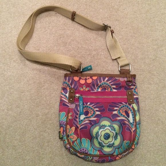 Lily Bloom purse Used but in good condition. Zipper pocket on front and inside and another pocket on the back on the outside Lily Bloom Bags Mini Bags