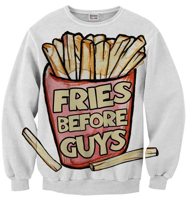 Priorities sweater, Mr. GUGU & Miss GO