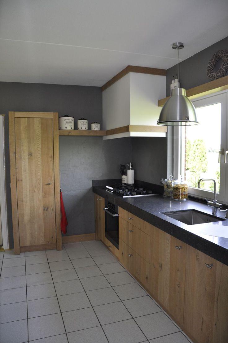 25 beste idee n over rustiek huis ontwerp op pinterest rustieke huizen rustiek huis - Keuken met bank ...