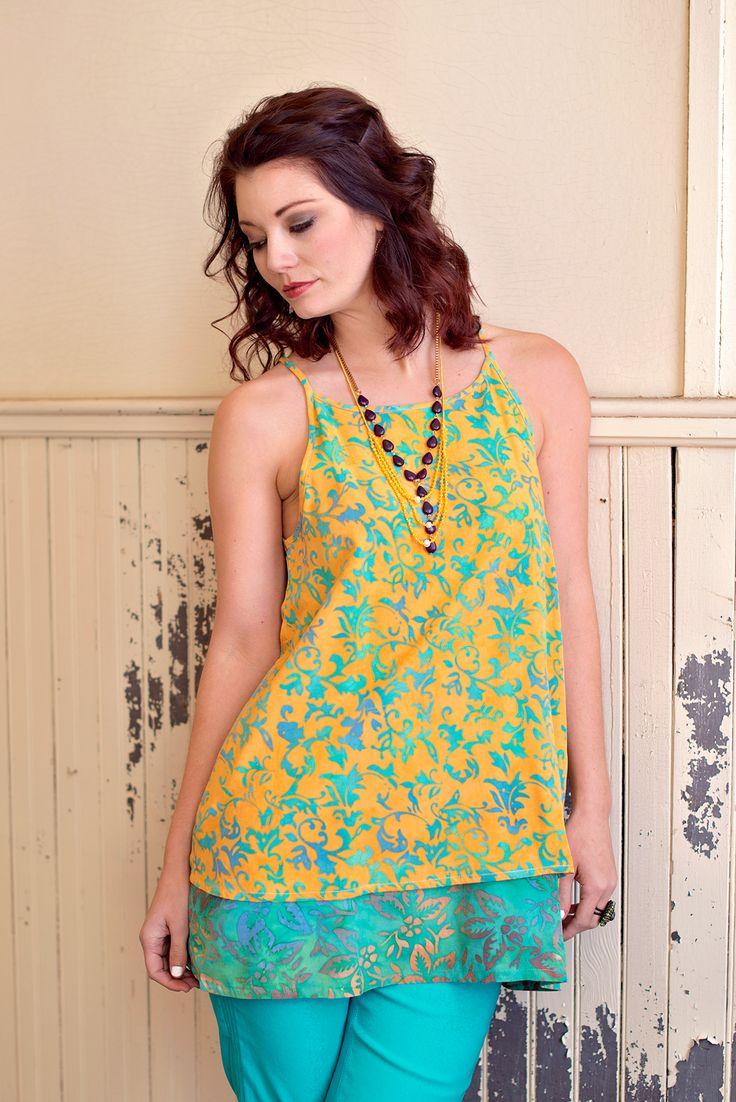 Over The Horizon Batik Tunic – Go Fish Clothing & Jewelry Company