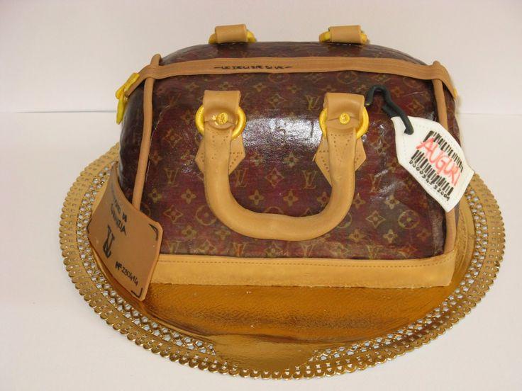 Le Delizie di Ve: LV BAG CAKE