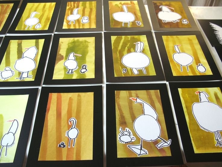 The ugly duckling. Children, 4 years old- with Britta Holse Johanson.