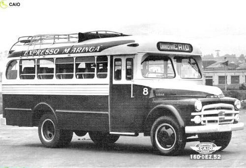 onibusantigos | Caio Rodoviario Dodge 1952