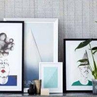 Arte en la nueva colección SS2014! House doctor lanza una nueva línea de ilustraciones de la joven danesa Askø  #estilonordico #cuadros