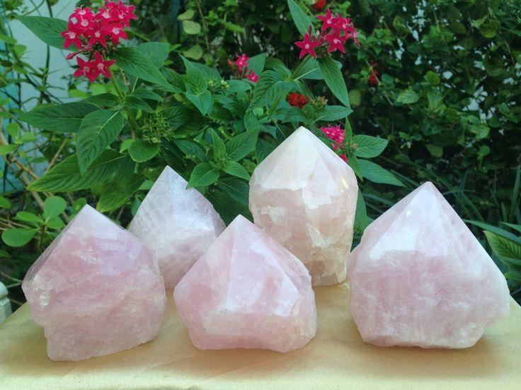 Rough Rose Quartz Crystal Specimen