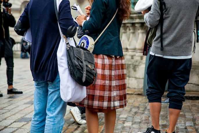 London Fashion Week Street Style Day 1