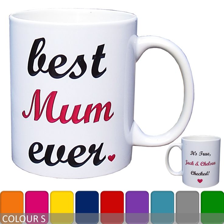 Personalised 'Best Mum Ever' Mug