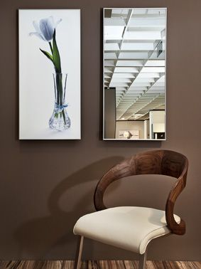 Mirror infrared panel heaters