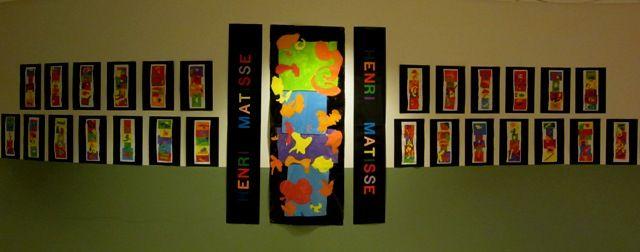 WES Kindergarten Art: Artist: HENRI MATISSE