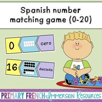 Spanish math game!