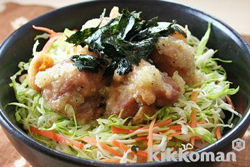 たっぷり香味野菜の塩から揚げ丼(香味野菜たっぷり塩だれ使用)のレシピをご紹介。鶏肉と米を使って簡単お手軽に調理できます。炒め物や煮物から揚げ物まで様々な献立レシピを簡単検索!お弁当や健康(ダイエット)レシピもご用意しています。キッコーマンのレシピサイト【ホームクッキング】